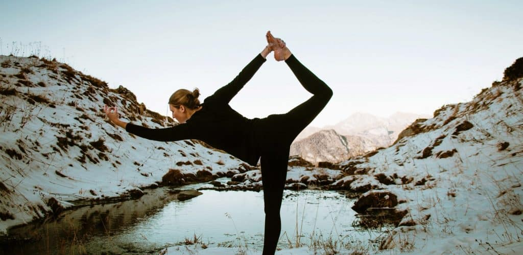 Yoga classes online nature outdoor