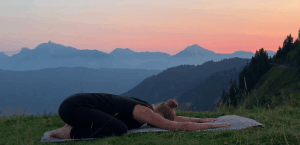 Yoga sleep outdoor nature classes