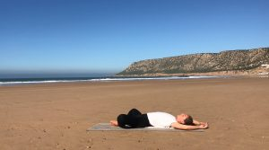 Yin yoga for beginners series outdoor nature